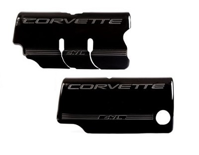 97-98 Painted GM Fuel Rail Covers - Smooth As Glass Finish